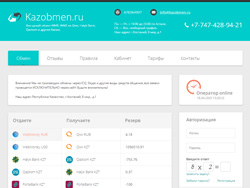 Site snapshot kazobmen.ru
