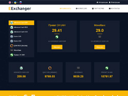 Снимок сайта eexchanger.co