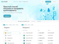 Знімок сайту laslobit.cc