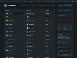 Знімок сайту grambit.net